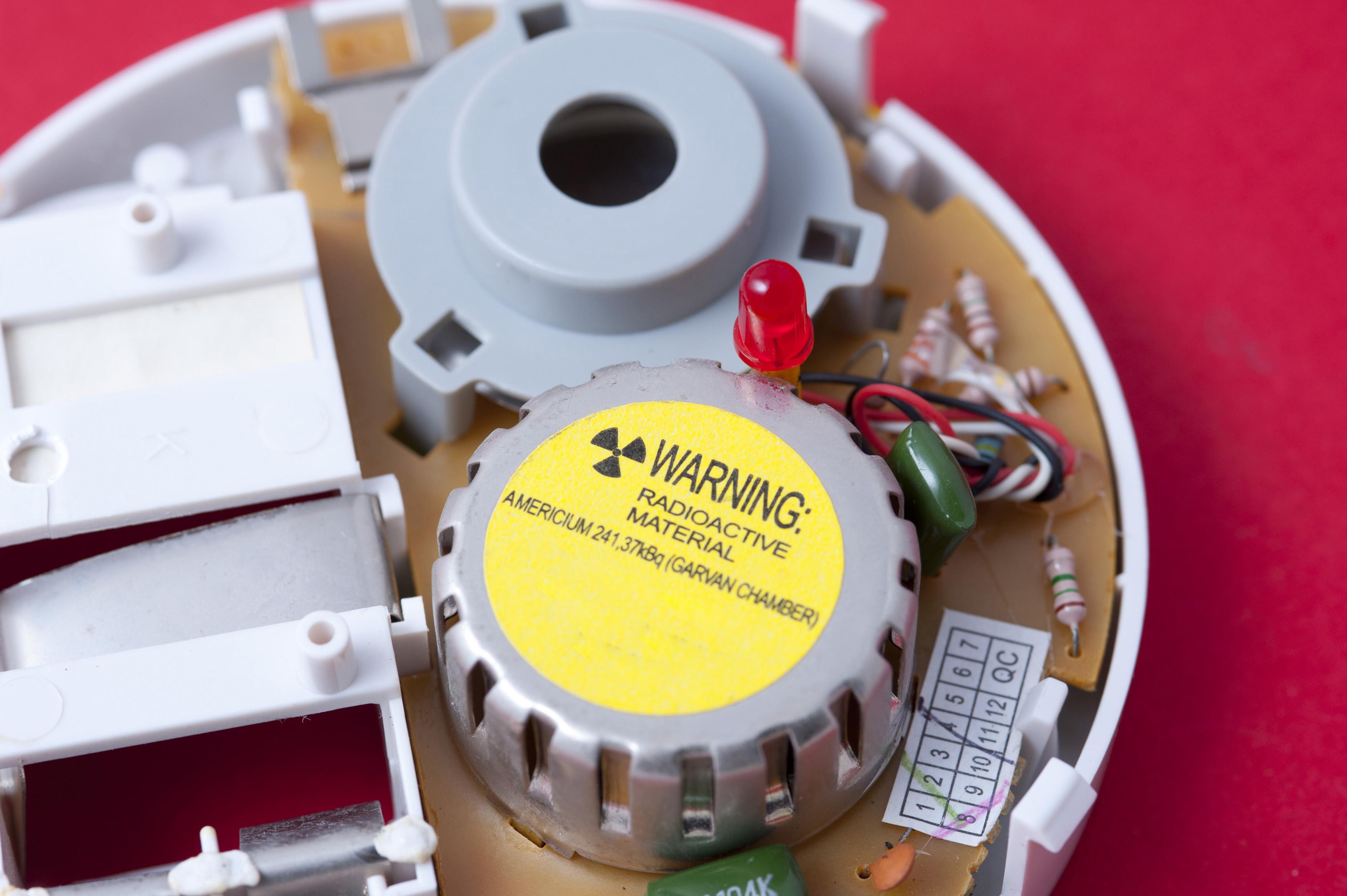 Americium Smoke Detectors